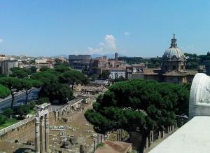 На развалинах Древнего Рима